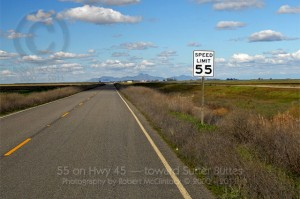 55 on Highway 45 (Click on the photo for a larger view)