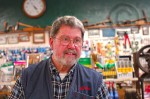 Ron McCloud, Dunsmuir Hardware. (Click on the photo for a larger view)