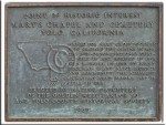 Plaque on Mary's Chapel